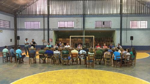 SESSÃO ORDINÁRIA NO INTERIOR – LINHA CACHOEIRINHA